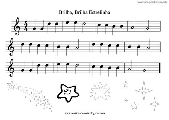 partituras faceis para teclado