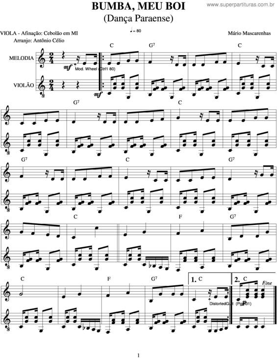 musica do bumba meu boi