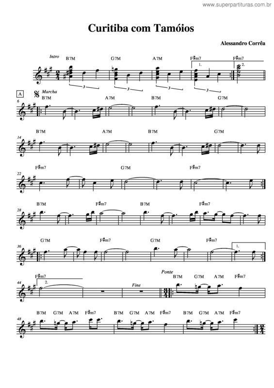 partitura coral gospel de curitiba