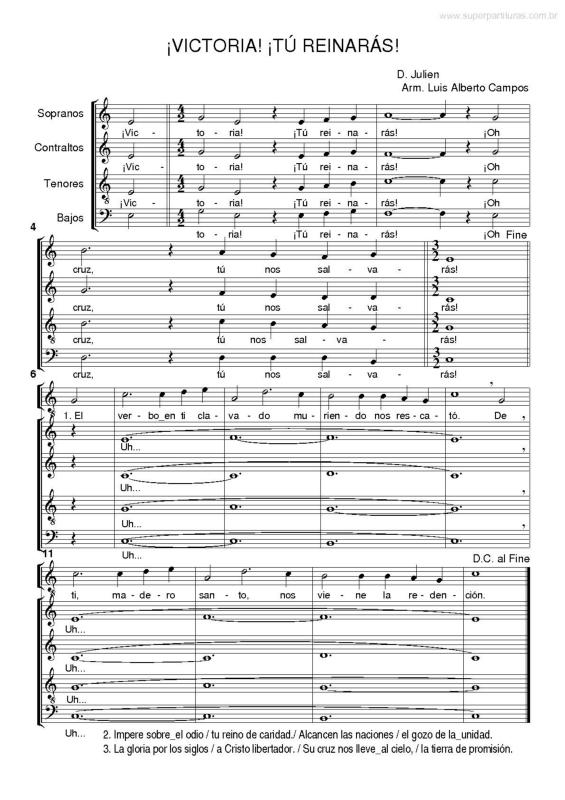Super Partituras Musicas De Luis Alberto Campos